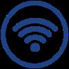 <h4>GRATIS high-speed internet</h4>