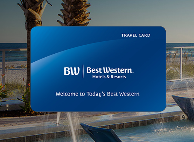 Best Western Travel Card