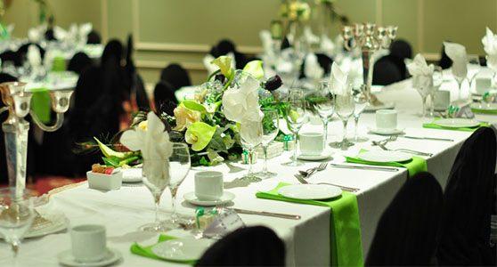 Vergadering, bruiloft & event